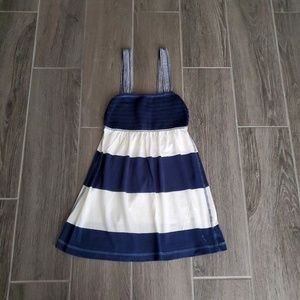 Abercrombie & Fitch Blue & White Tank Top